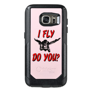 I Fly, Do You? (blk) OtterBox Samsung Galaxy S7 Case
