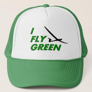 I Fly GREEN Trucker Hat
