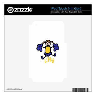 I Fly Skin For iPod Touch 4G