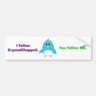 I Follow Bumper Sticker