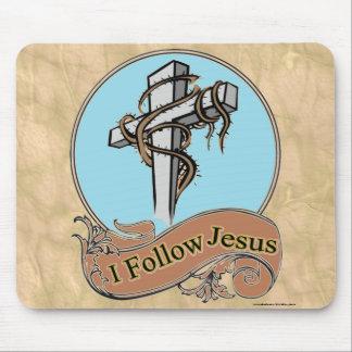 I FOLLOW JESUS MOUSE PADS