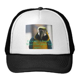 I forget... trucker hat