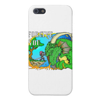 I Forgive Dragon Case For iPhone SE/5/5s