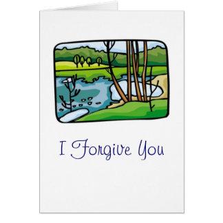 I Forgive You Card