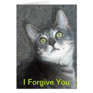 I Forgive You Greeting Card