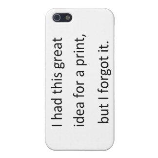 i forgot iPhone SE/5/5s case