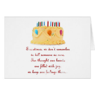I FORGOT - SERIES GREETING CARD