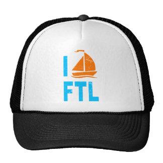 I Fort Lauderdale del amor del velero Gorras