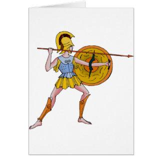 I fought at Sparta Card
