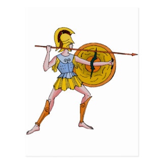 I fought at Sparta Postcard