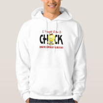 I Fought Like A Chick 1 Brain Surgery Survivor Hoodie
