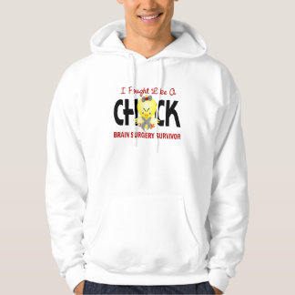 I Fought Like A Chick 1 Brain Surgery Survivor Pullover