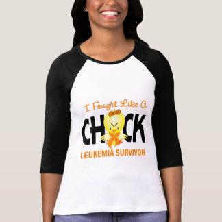 I Fought Like A Chick Leukemia Survivor T-Shirt
