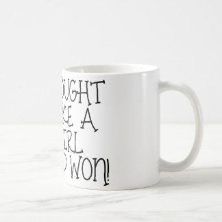 I Fought Like A Girl- BCA Coffee Mug