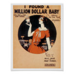 I Found A Million Dollar Baby poster