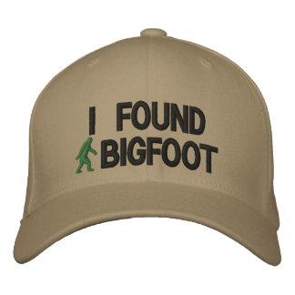 I found bigfoot cap