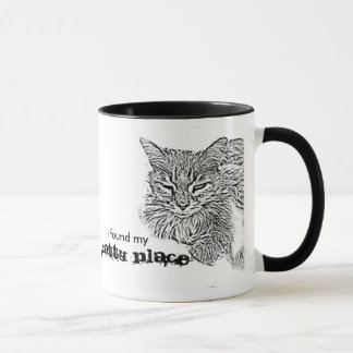 I found my catty place Happy Place coffee mug