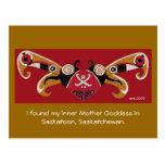 I Found My Inner Mother Goddess Post Cards
