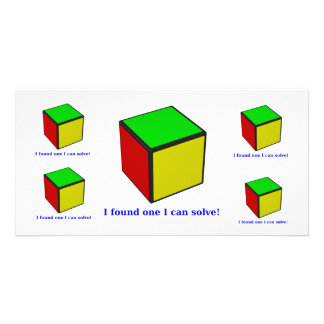 I found one I can solve! Card