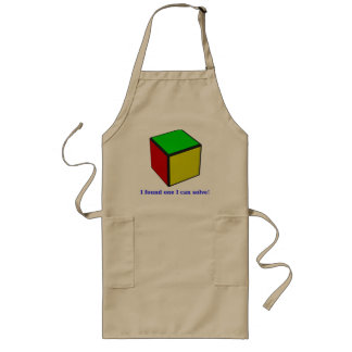 I found one I can solve! Long Apron