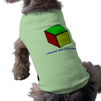 I found one I can solve! Shirt