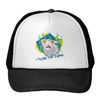 I found the catnip trucker hat