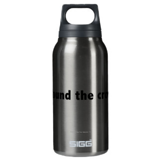 I found the crowbar! Black Insulated Water Bottle