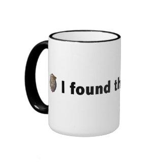 I found the crowbar! Black Ringer Coffee Mug