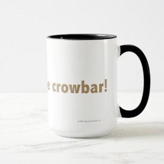 I found the crowbar! Gold Mug