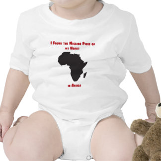 I Found the Missing Piece of my Heart in Africa Romper