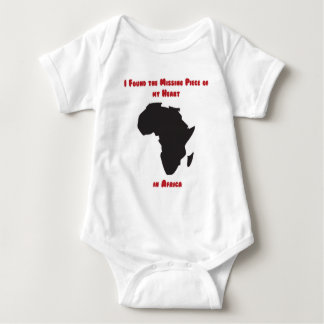 I Found the Missing Piece of my Heart in Africa Tee Shirts
