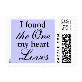 I found the one my heart loves postage
