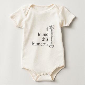 I Found This Humerus Baby Bodysuit