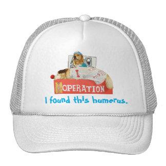 """I found this humerus"" Golden Retriever Operation Trucker Hat"