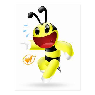 I found you Dudu Bee Postcard