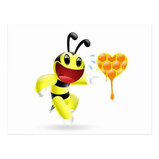 I found you honey - Dudu Bee Postcard
