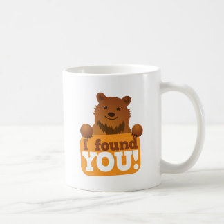 I FOUND YOU teddy bears picnic bear Coffee Mug