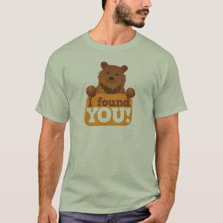 I FOUND YOU teddy bears picnic bear T-Shirt