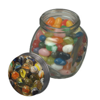 I Found your Marbles Glass Jar