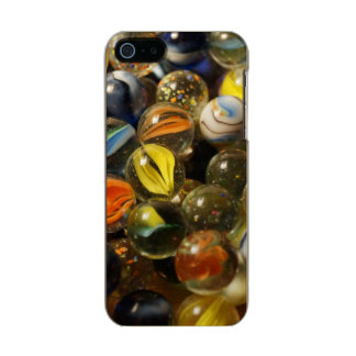 I Found your Marbles Metallic Phone Case For iPhone SE/5/5s