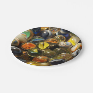 I Found your Marbles Paper Plate