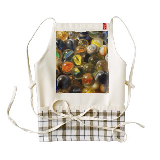 I Found your Marbles Zazzle HEART Apron