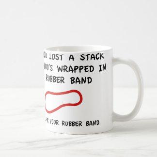 I Found Your Rubber Band Coffee Mug
