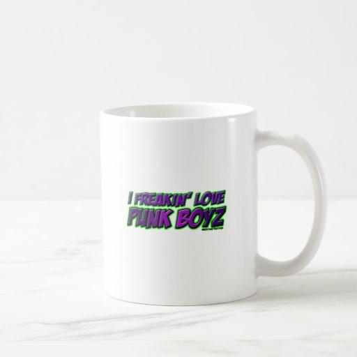 I Freakin Love PUNK BOYS punk rock punkrock girl Coffee Mug