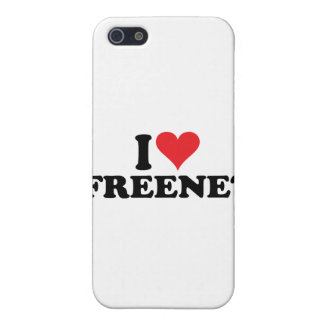 I freenet 1 del corazón iPhone 5 protector