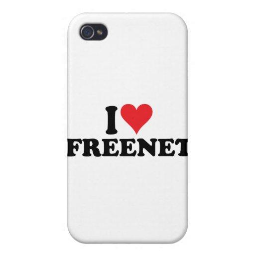 I freenet 1 del corazón iPhone 4 fundas