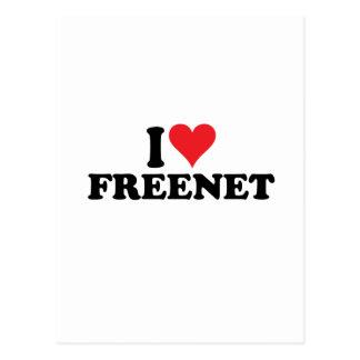 I freenet 1 del corazón postal