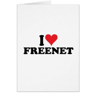 I freenet 1 del corazón tarjeta pequeña