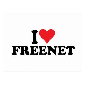 I freenet 1 del corazón postales