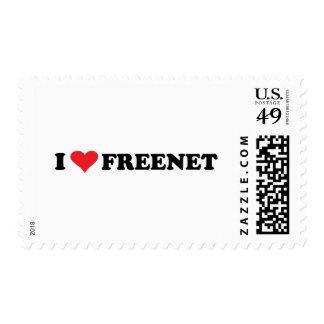 I freenet 2 del corazón sellos postales